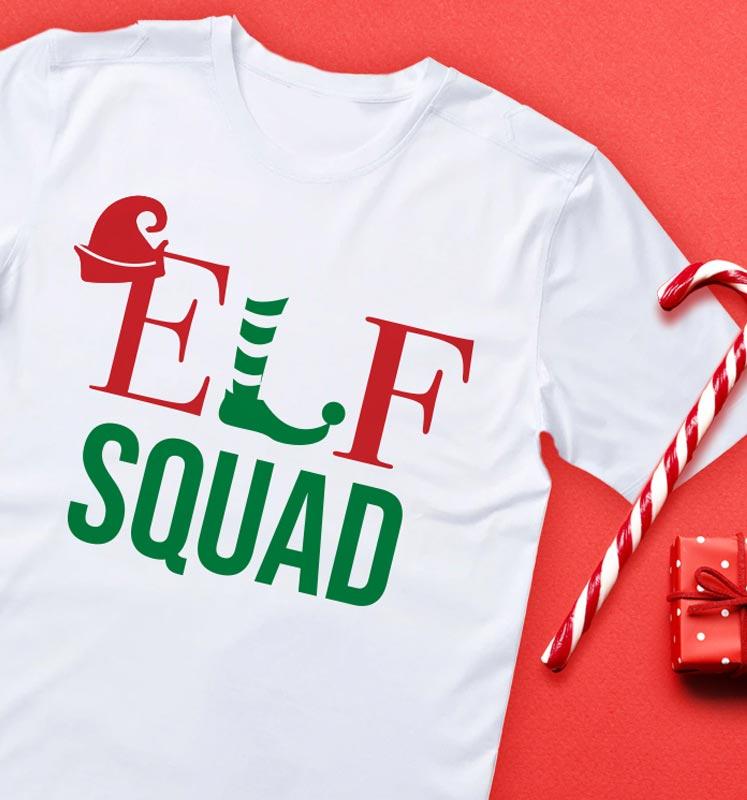 Elf Squad White Shirt